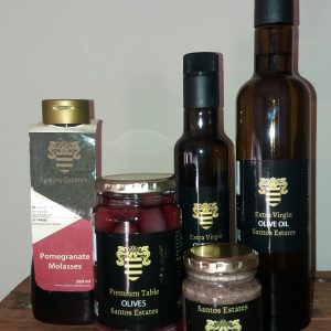 Santos Estates - Olive and Pomegranate Products from the Cape