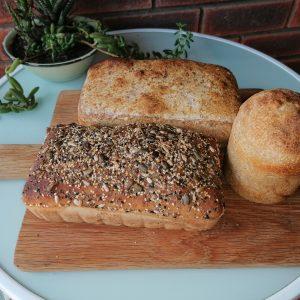 Sourdough - Bread, 100% Rye, Seeded, Bunny Chow