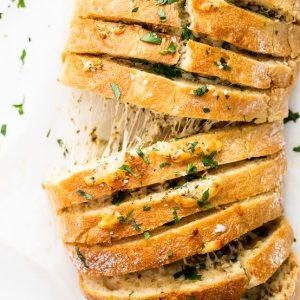 Cheesy Garlic Panini